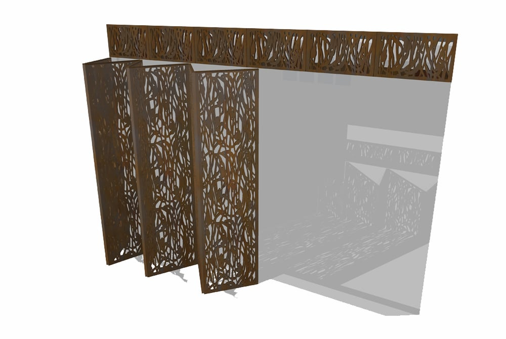 Patterned Metal Screens