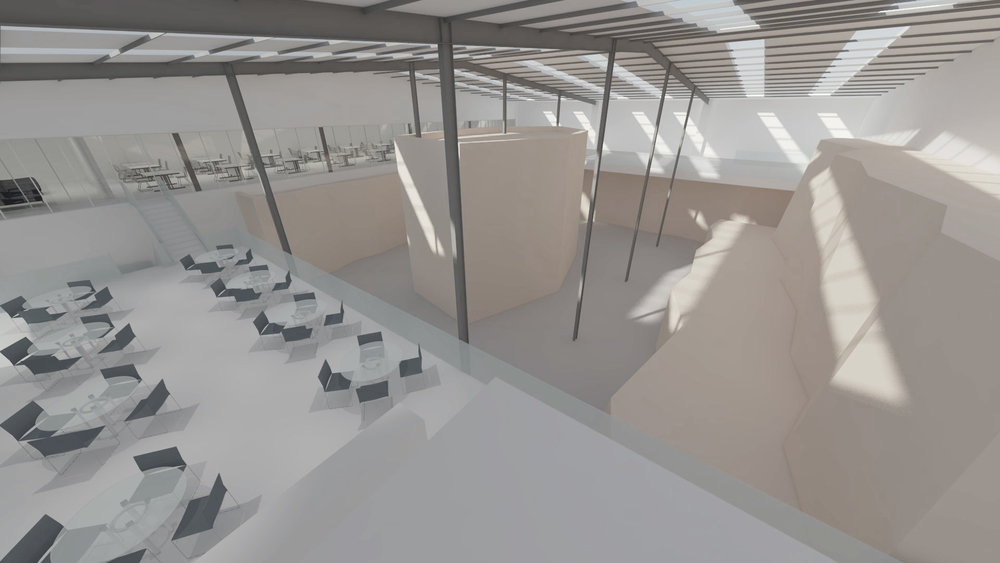 Yonder: A centre for climbing, yoga, working and making Location: Walthamstow   Floor Area: 2,000m2  Budget: £1m Client: Yonder View More