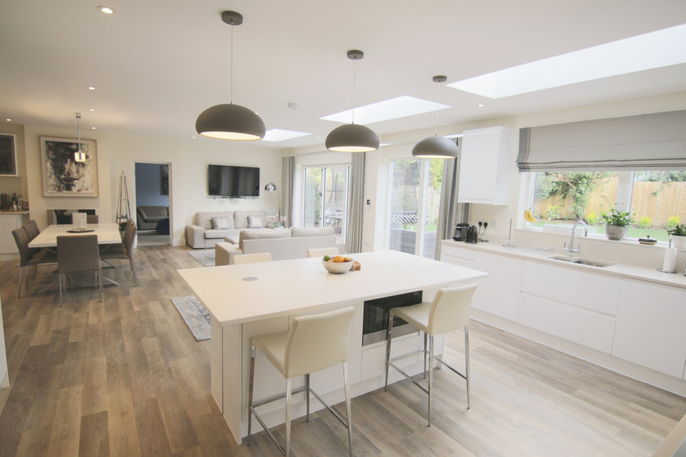 Amelia's House Location: Dorking Floor Area: 90m2 + Refurbishment Budget: £250,000 Client: Amelia and Alex View More