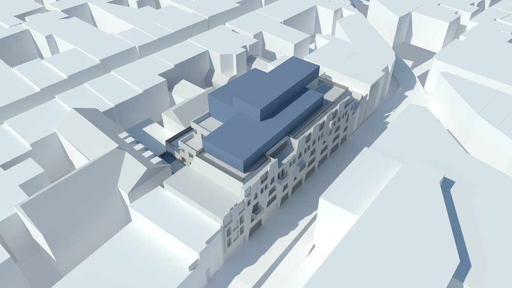 Black Lion Street Roof Extension     Location:  Brighton     Floor Area:  950m2    Budget:  £2m   Client:  DTZ Investors    View More