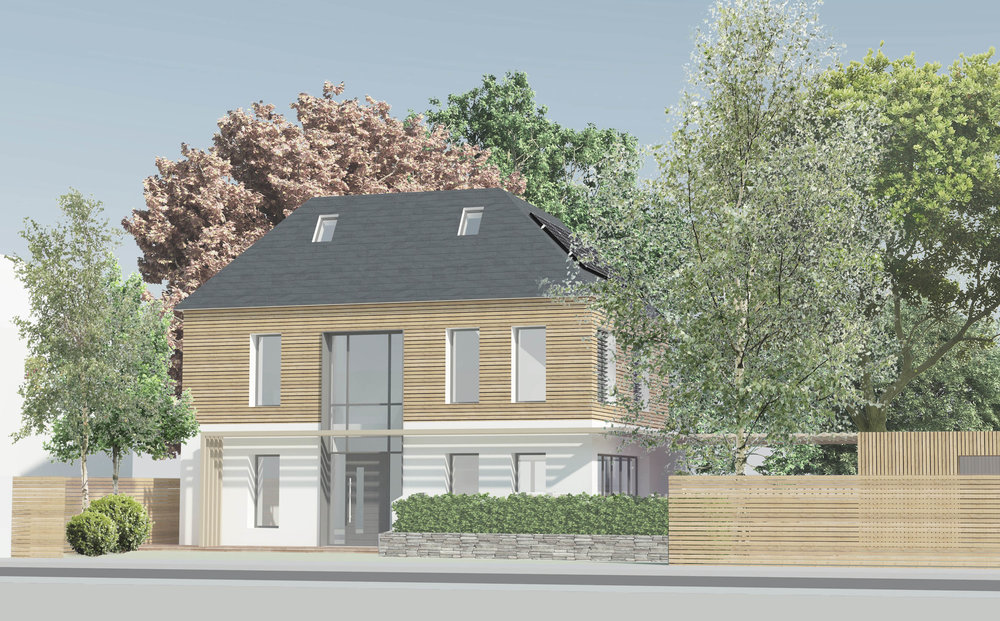 Mada Road Passivhaus Location: Orpington  Floor Area: 230m2 Budget: £500,000 Client: Phil and Sam View More