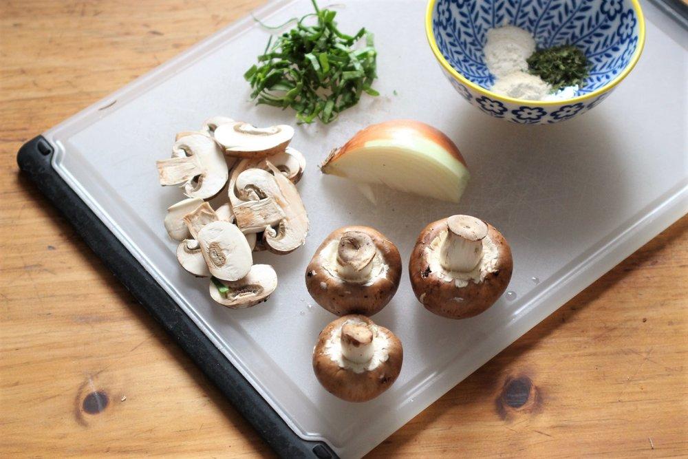 One Pot Onion & Garlic Farro by Meghan Moore