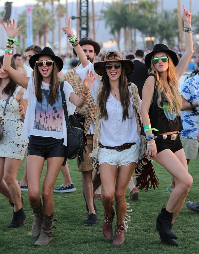 Coachella felt fedoras
