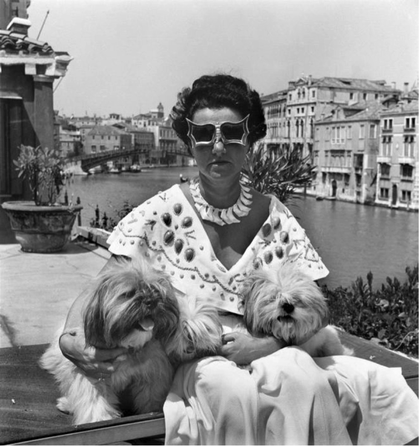 Peggy Guggenheim being a boss.