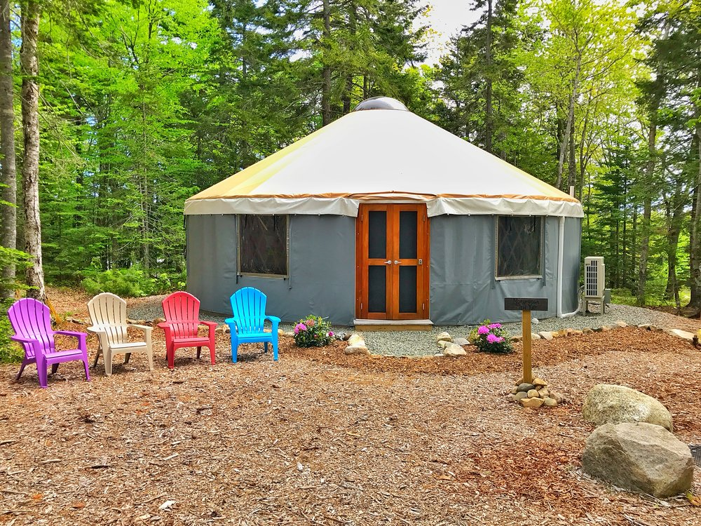 Norumbega Mountain Yurt (Click the Yurt for Rates, Availability and to Book!)
