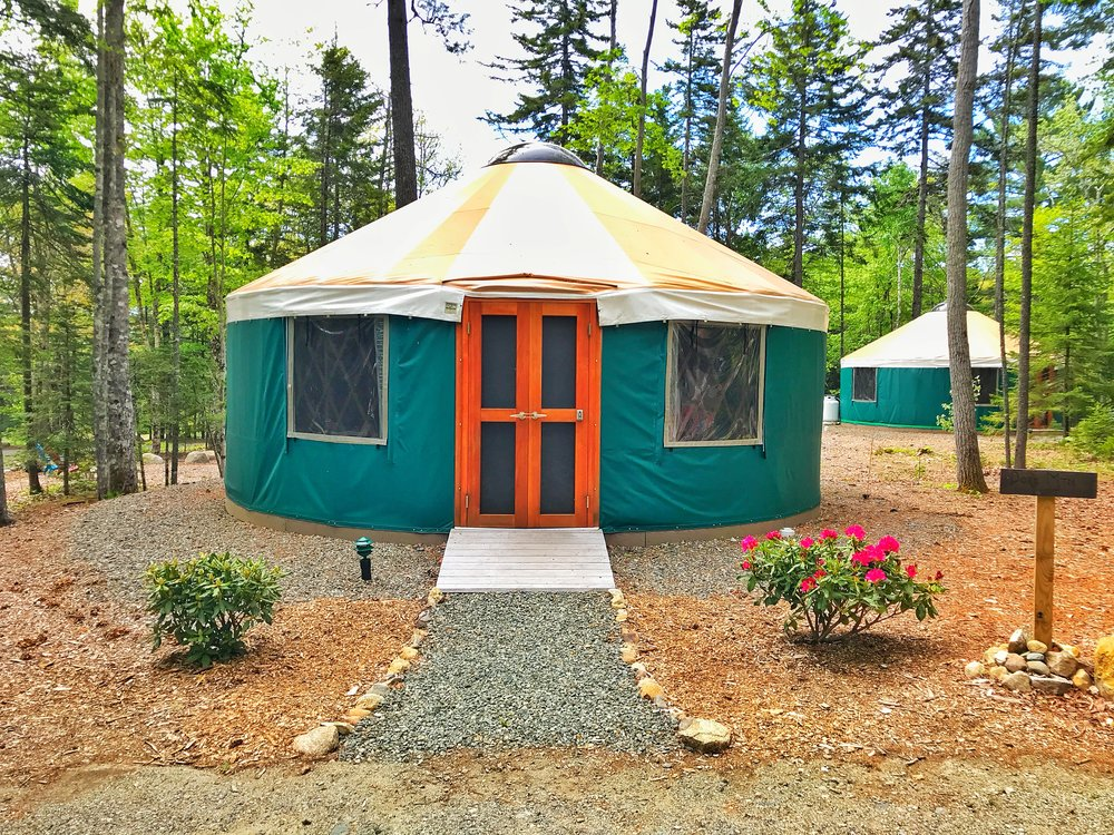 Dorr Mountain Yurt (Click the Yurt for Rates, Availability and to Book!)