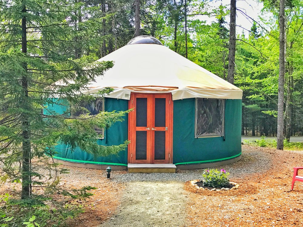 Beech Mountain Yurt (Click the Yurt for Rates, Availability and to Book!)