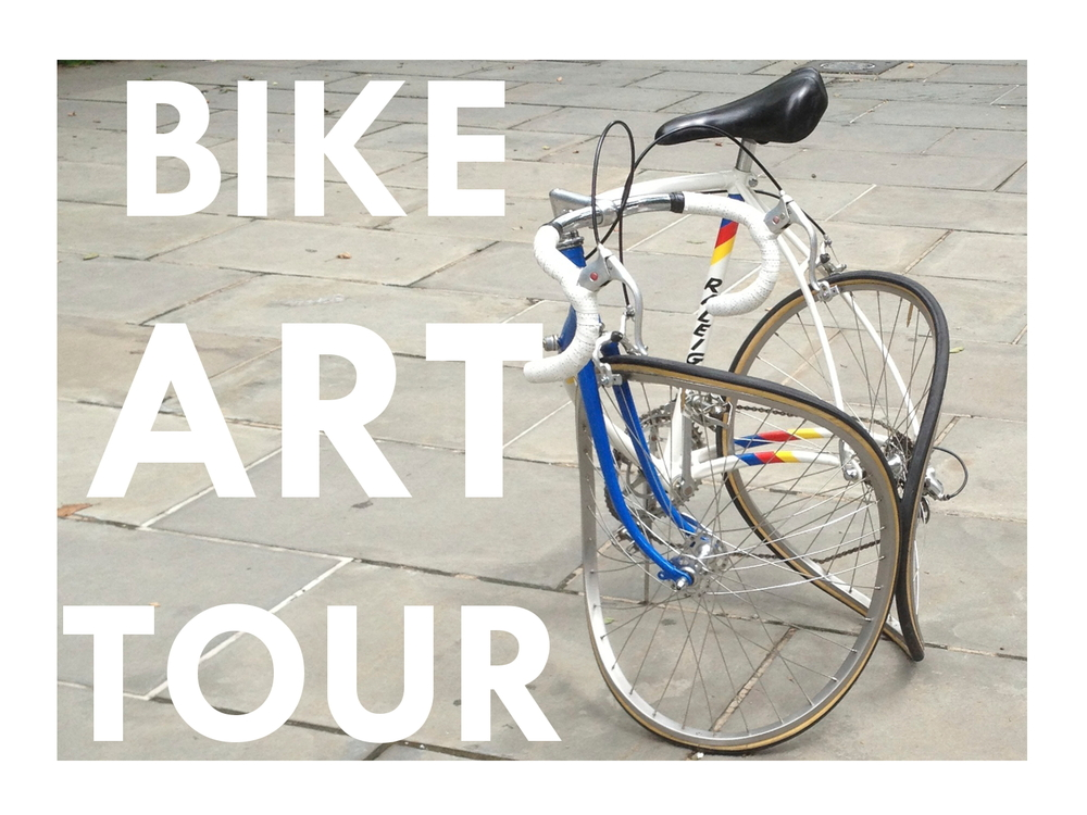 Bikes & Art go together like Bonnie & Clyde!