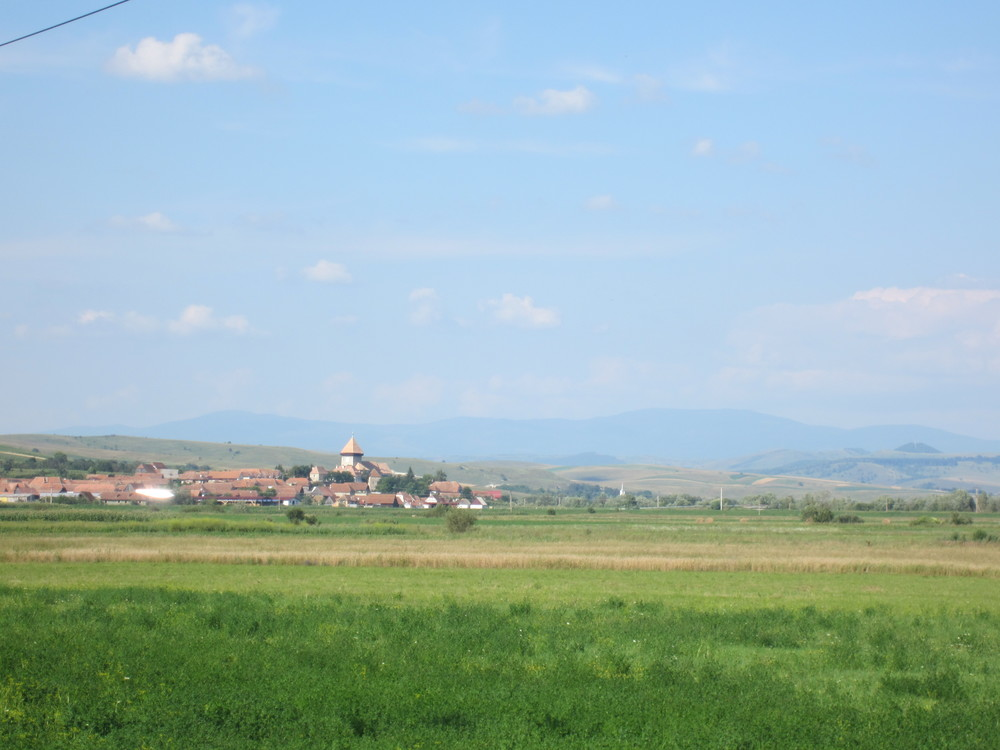 The Transylvanian countryside.