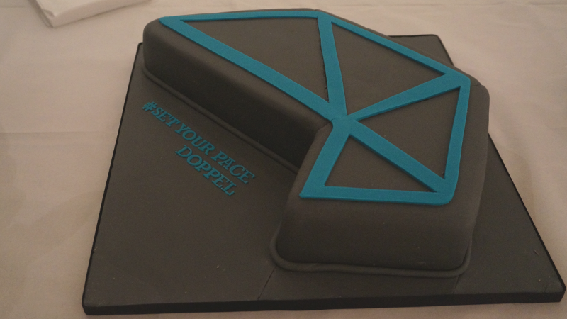 One of our friends baked and iced this incredible cake to celebrate our launch!