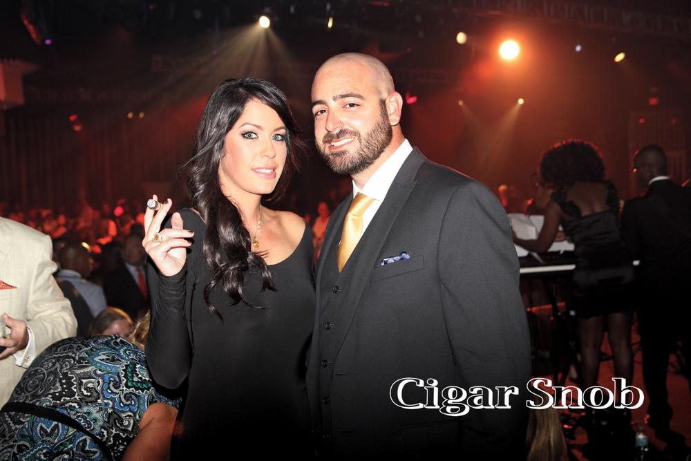 Jessica Padrón and Daniel Serna