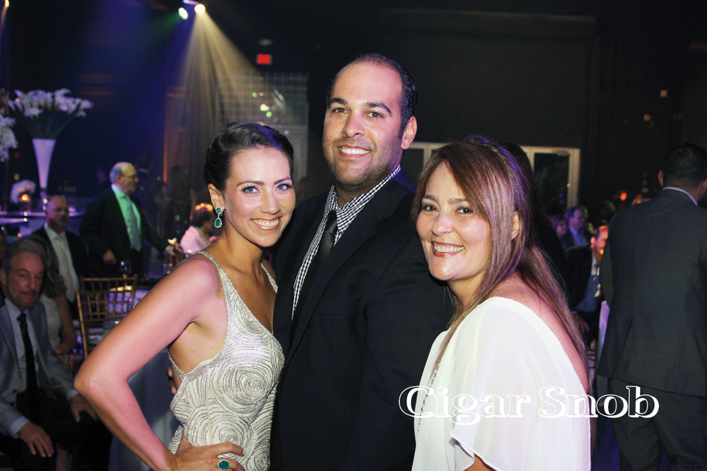 Christina and Marcos Soto with friend.