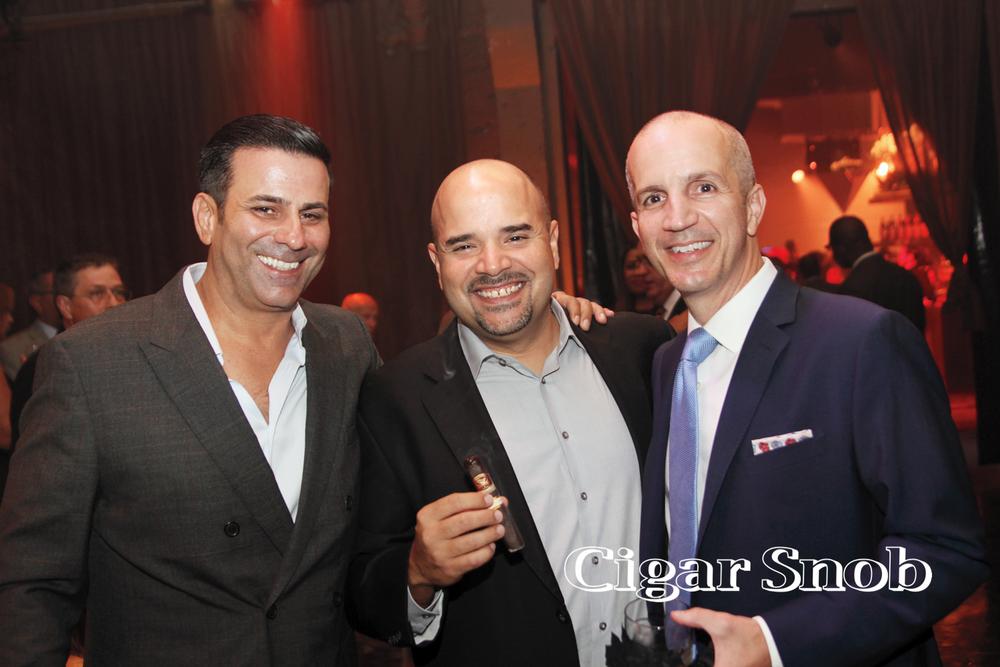 Joey Bevilacqua, Erik Calviño and Craig Cass.