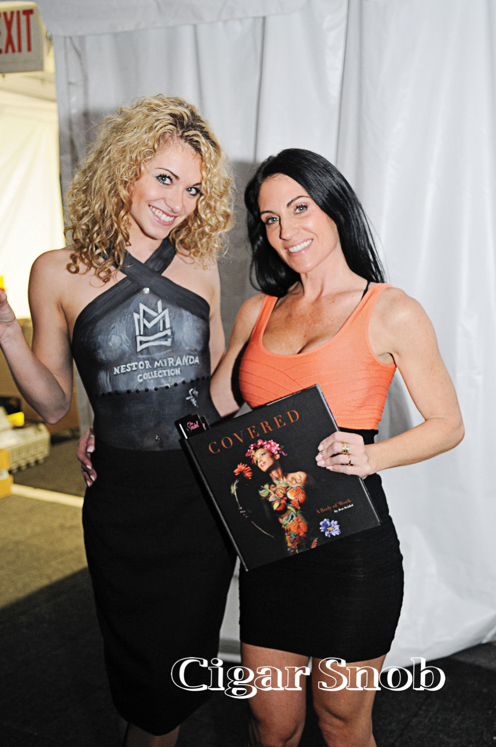 Julia Maria and Body Paint Artist Jen Seidel