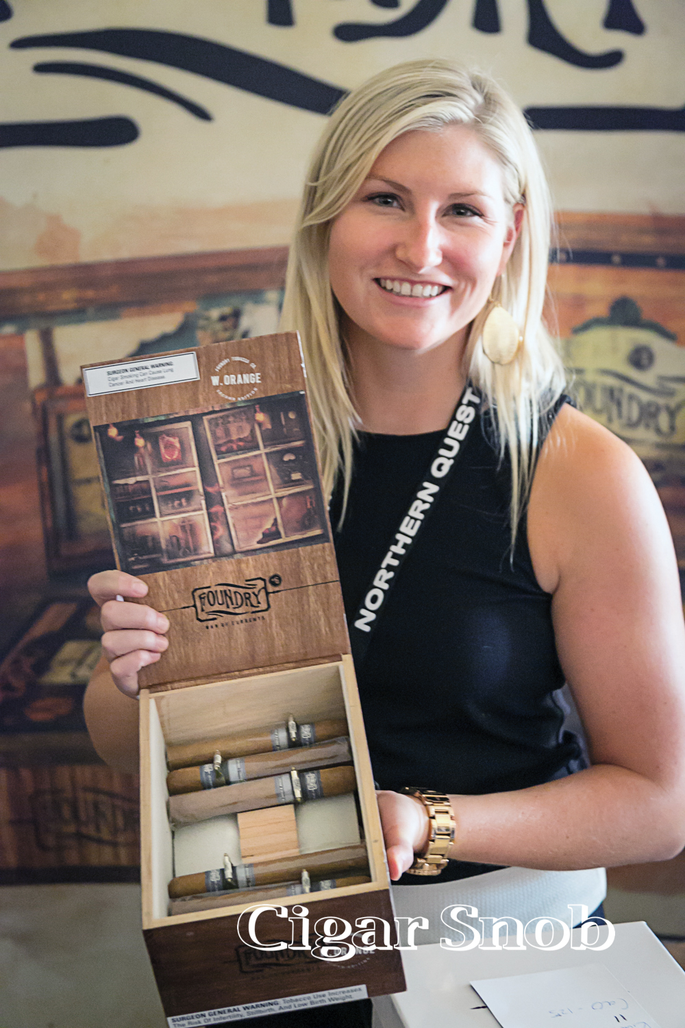 Lana Fraser of General Cigars