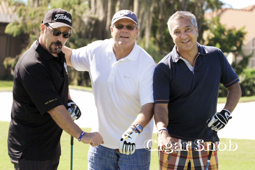 The threesome of Rich Castiano, Lou Luongo and Rocky Patel