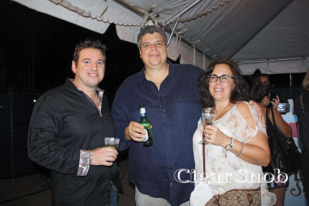 Gabriel Piñeres, Jack and Ceci Toraño