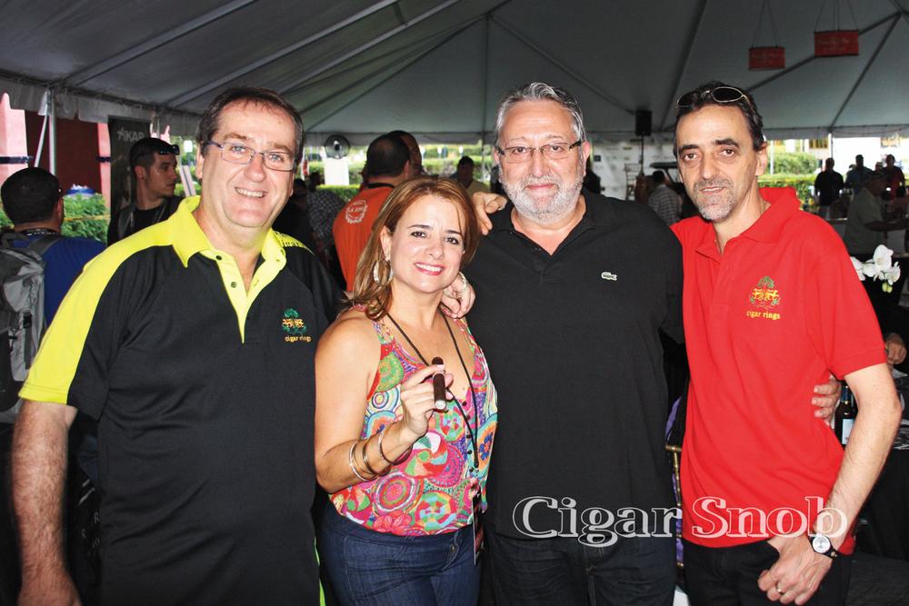 Albert Montserrat, Jamilet Calviño, Miquel Pascual and Carlos Rodríguez