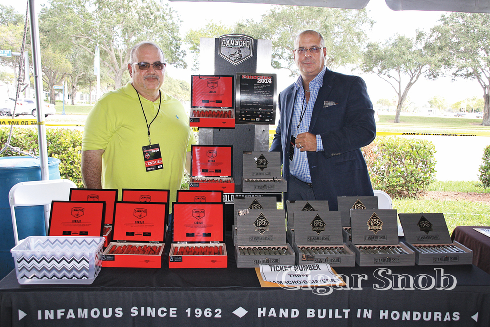 Davidoff's own Oscar Sanabria and Carlos Escalona