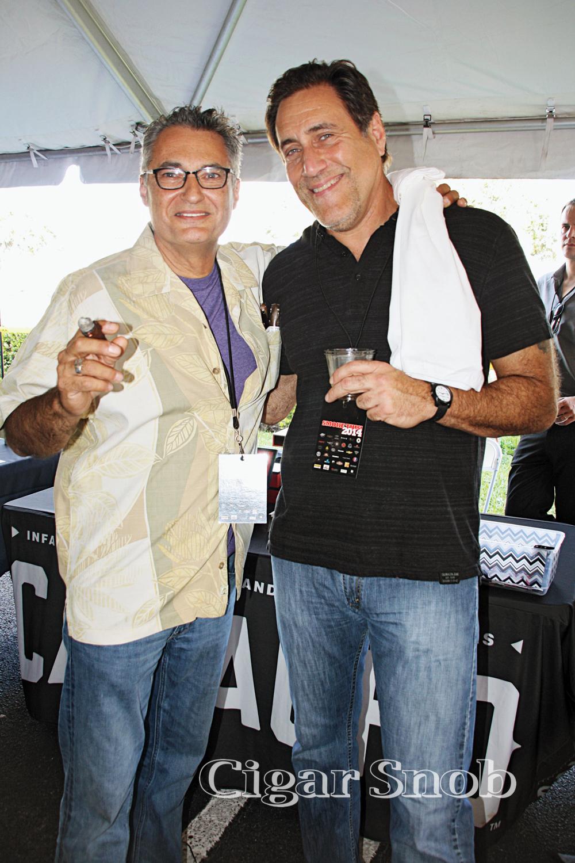 Nestor López and Victor Delgado