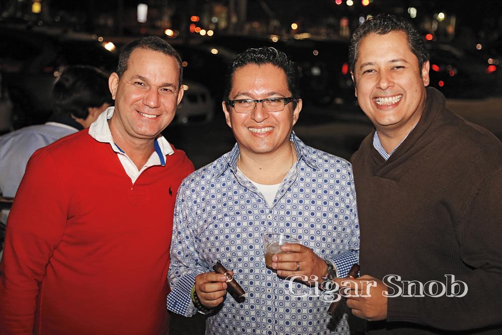 Jorge Salazar, Jorge Leon and Miguel Pinto