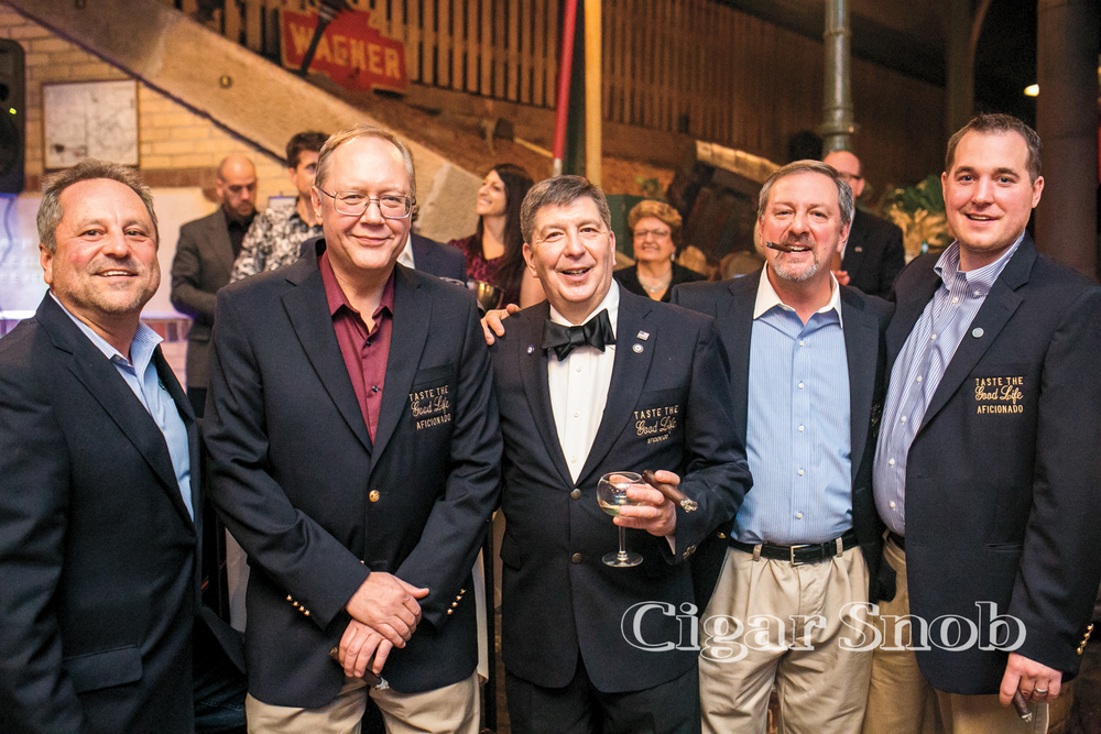 2014 TTGL Aficionados: Pete Dochinez, Tom Bauman, Dr. Jim Gregory, Pete Maida and Joe Sinclair
