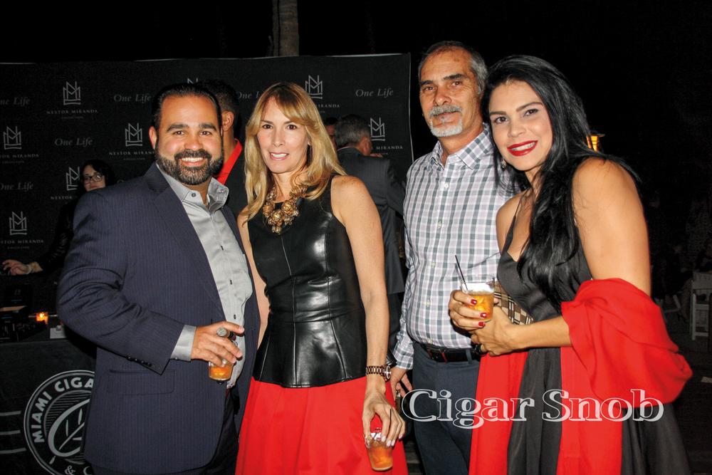 Albert Sosa, Idalmis and Luis Mila, Yasmin García