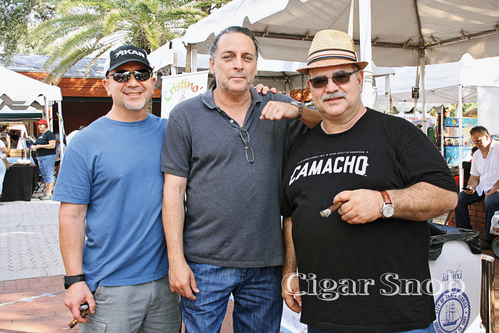 Ralph Babalona, Pedro González and Oscar Sanabria