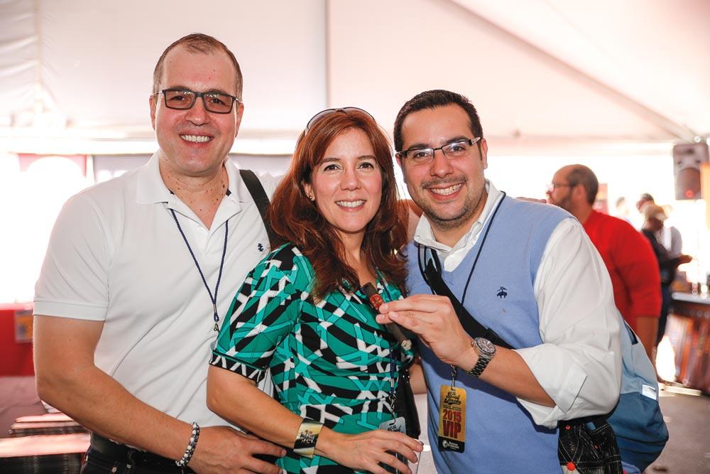 Dez Karpati, Erika López and Roberto López
