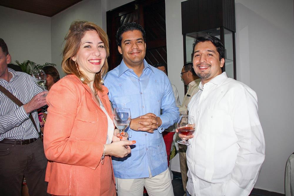 María Luisa Amilis, Carlos Feliz and Kerim Fahara