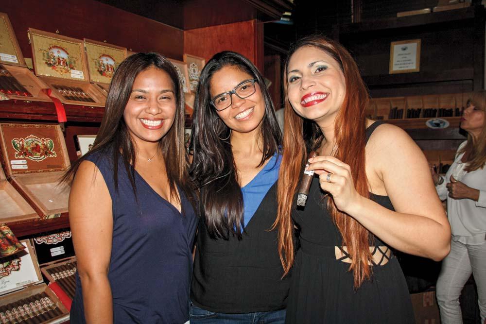 Ana Rebecca Fernández, Valerie Ann Olivo and Emille Mustafa