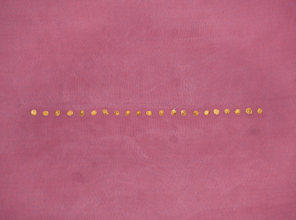 Plum Pits on Plum Upholstery Fabric