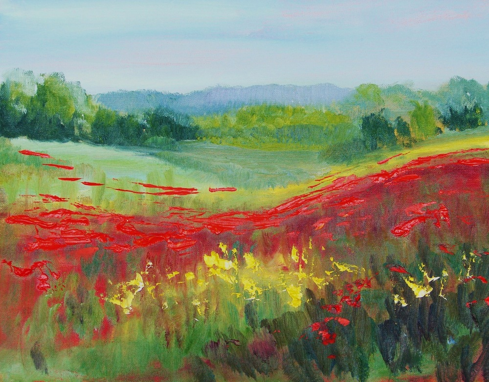 'Italian Poppy Fields'