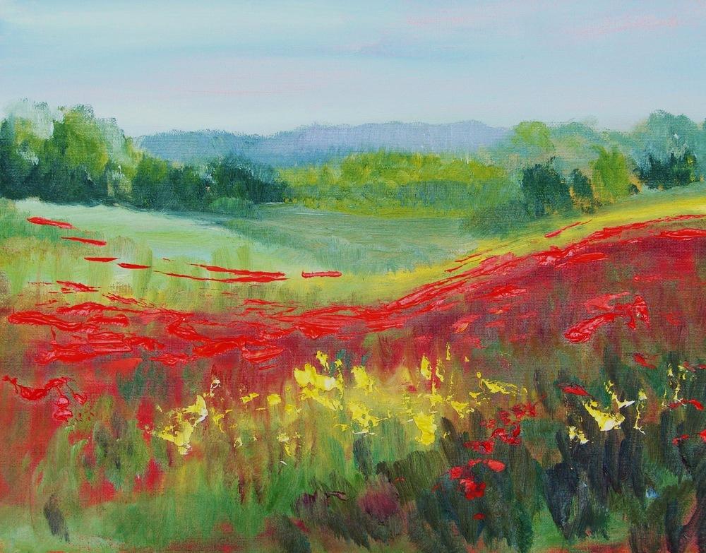 'Italian Poppy Fields'