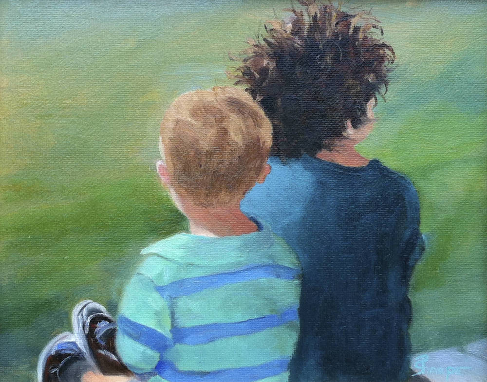 little-brotheres-crazy-hair-navy-shirt-oil-painting-charleston-phyllis-sharpe-IMG_0398.jpg