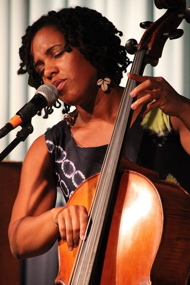 Shana Tucker performing at Greensboro College a few years ago.