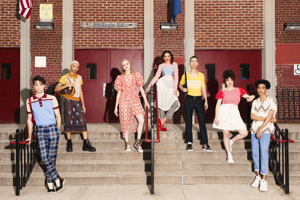 SCHOOL'S OUT x  NYLON