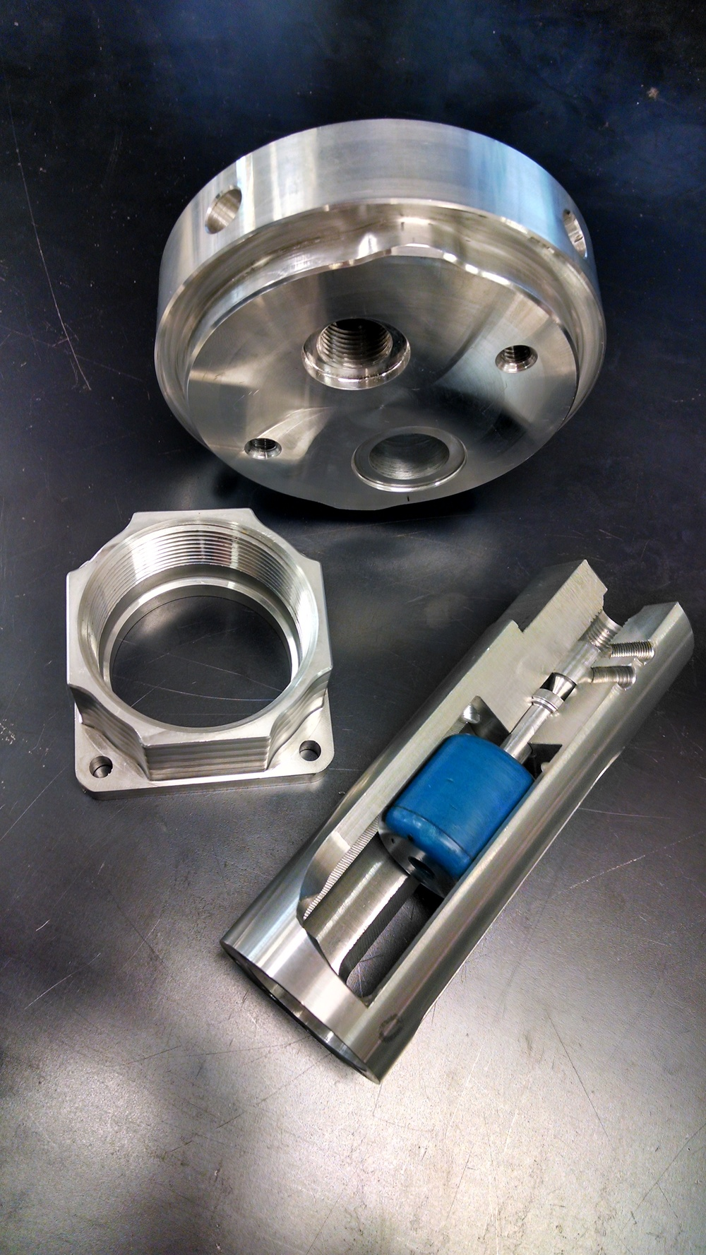 "Aluminum Components 1-1/2"" to 5"""