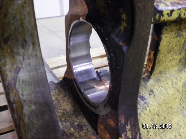 "Bore Machining 4"" Bore"
