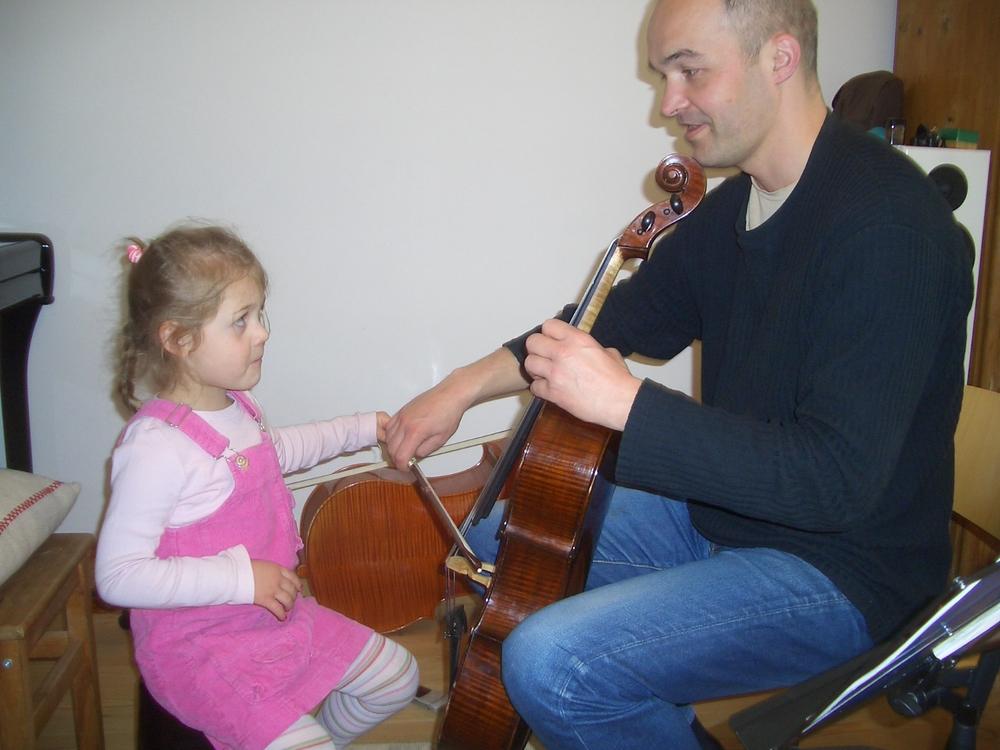 Franziska Möhringer mit 5 Jahren