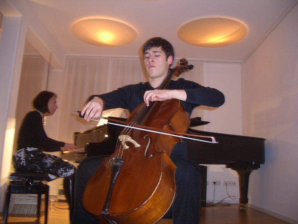 Damjan Saramandić, Stipendiat der Albert-Eckstein-Stiftung