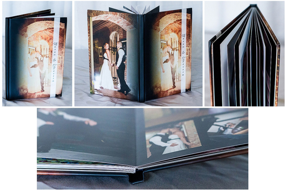 Wedding Portrait book timeshots photography