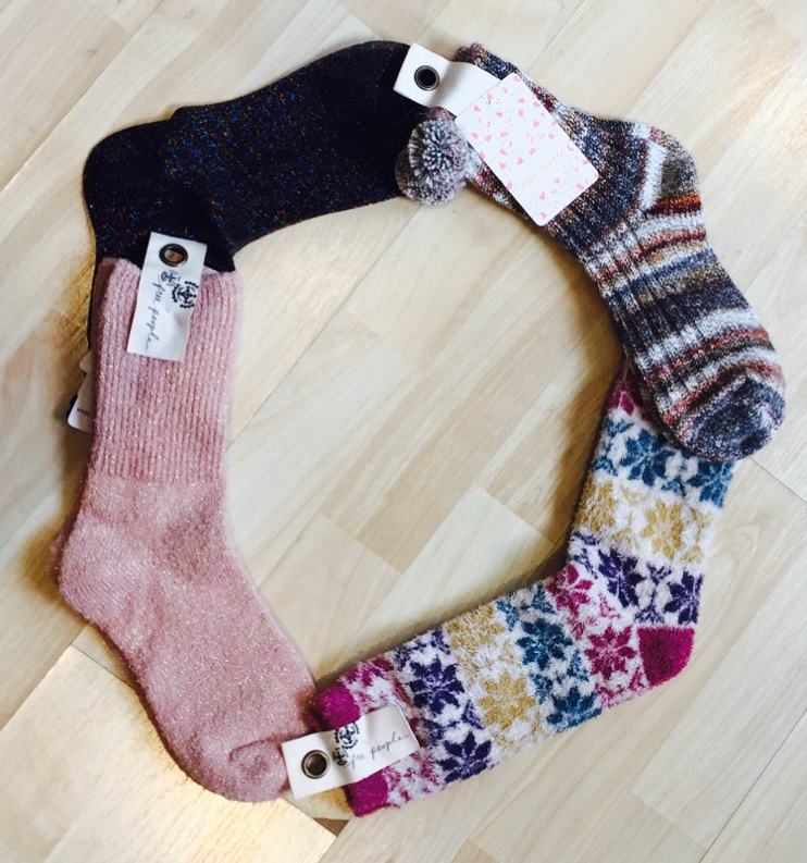 Free People Socks, $16. Additional Styles and Colors Available