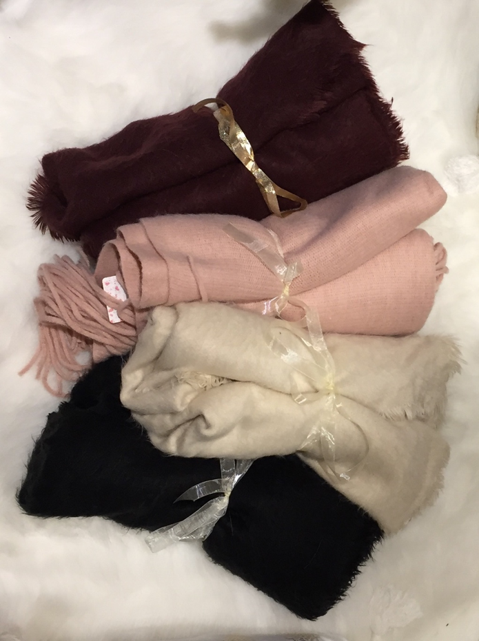 Free People Blanket Scarves, $48 and Up. Available in other colors and styles as well
