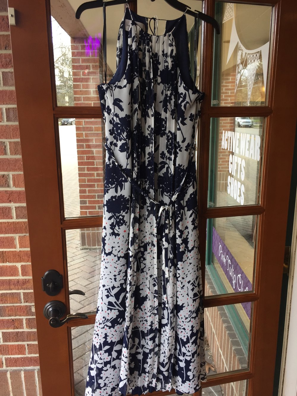 Donna Morgan Floral Maxi Dress $148