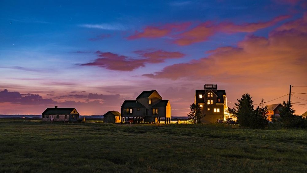 Plum Island at Nigh  t  by Dan Fionte