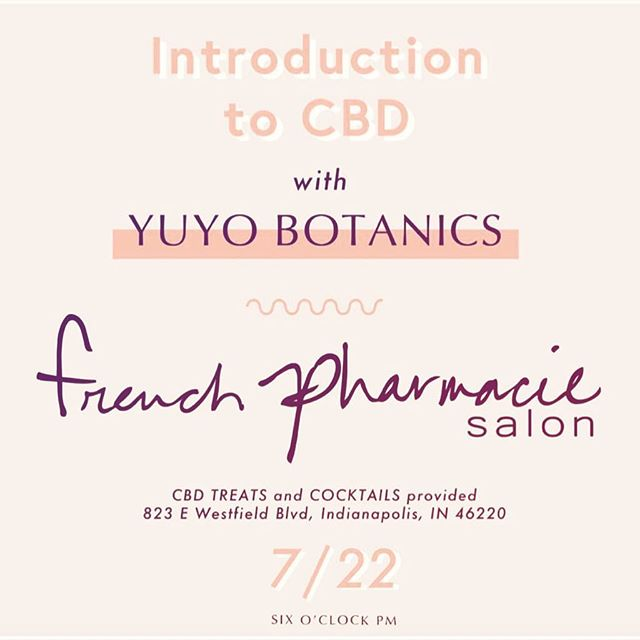 toot toot beep beep!! reminder tomorrow is our intro to cbd oil class !! if you are curious, have questions, want to purchase, want to try, etc etc etc come on down. Special cbd treats and cocktails to try too. tomorrow! Sunday July 22nd @6pm  Http://frenchpharmcbd.eventbrite.com