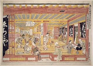 masanobu+1745+echigoya+dept+store+with+kohin+hiki+dashi.jpg
