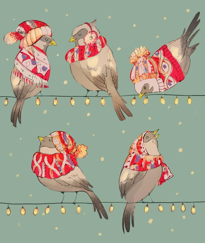 Cozy Sparrows (unit)