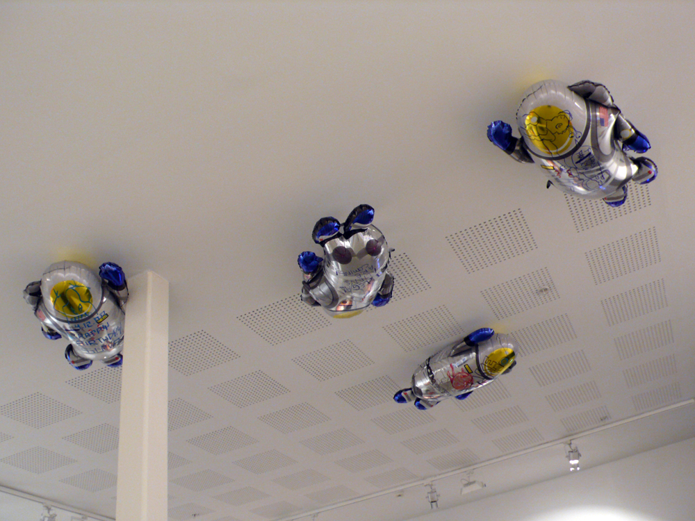 SPUTNIK 3  (as SUPERM + Gio Black Peter) Gallerie S.E, Bergen, Norway. 2008